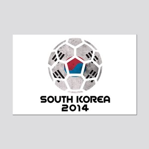 South Korea World Cup 2014 Mini Poster Print