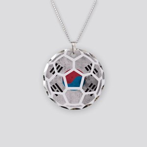 South Korea World Cup 2014 Necklace Circle Charm