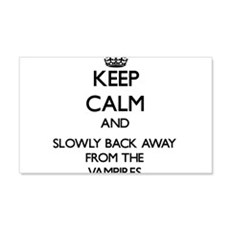 Keep calm and slowly back away from Vampires Wall