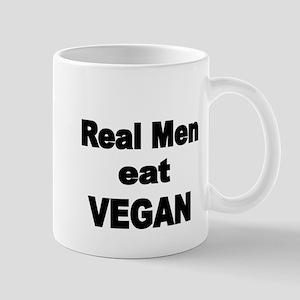 Real Men eat Vegan 2 Mugs