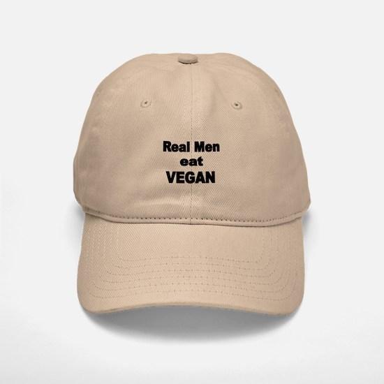 Real Men Eat Vegan 2 Baseball Baseball Baseball Cap