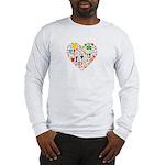 World Cup 2014 Heart Long Sleeve T-Shirt