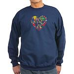 World Cup 2014 Heart Sweatshirt (dark)