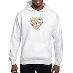 World Cup 2014 Heart Hooded Sweatshirt