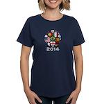 World Cup 2014 Women's Dark T-Shirt