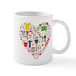 World Cup 2014 Heart Mug