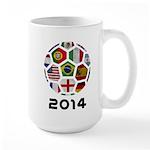 World Cup 2014 Large Mug