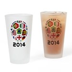 World Cup 2014 Drinking Glass