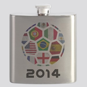 World Cup 2014 Flask