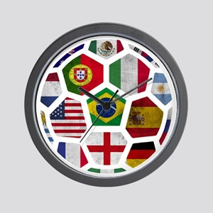 World Cup 2014 Wall Clock