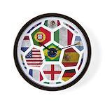 World Cup 2014 Wall Clock