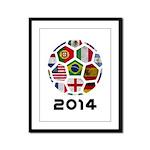 World Cup 2014 Framed Panel Print