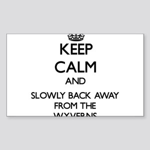 Keep calm and slowly back away from Wyverns Sticke