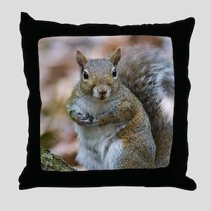 Cute Squirrel Throw Pillow