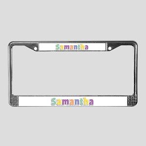 Samantha Spring14 License Plate Frame