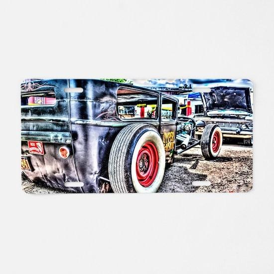 Rat rod Aluminum License Plate