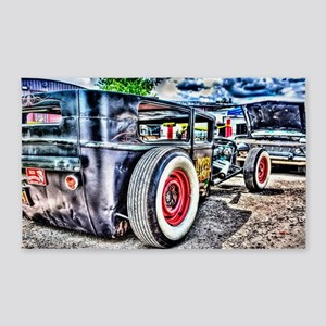 Rat rod 3'x5' Area Rug