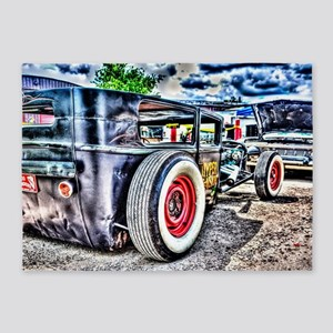Rat rod 5'x7'Area Rug