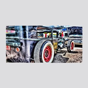 Rat rod Beach Towel