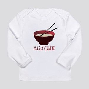 miso_cute_v2 Long Sleeve T-Shirt