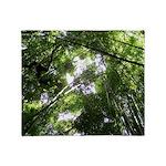 Forest Canopy (Sugar Skull) Throw Blanket