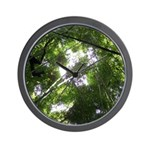 Forest Canopy (Sugar Skull) Wall Clock