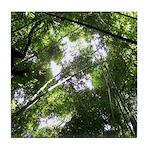 Forest Canopy (Sugar Skull) Tile Coaster