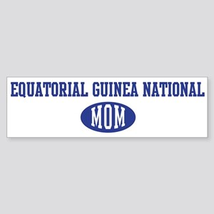 Equatorial Guinea national mo Bumper Sticker