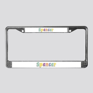 Spencer Spring14 License Plate Frame