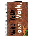 """Make Your Own Mark"" Journal"
