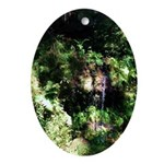 Island Forest Ornament (Oval)