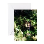 Island Forest Greeting Cards