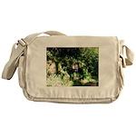 Island Forest Messenger Bag