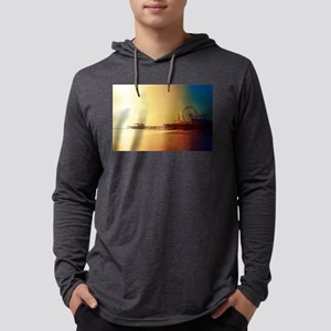Pier Orange Sunrise Long Sleeve T-Shirt