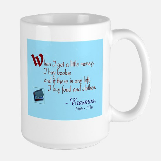 I Buy Books Large Mug