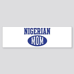 Nigerian mom Bumper Sticker