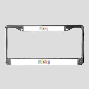 Ricky Spring14 License Plate Frame