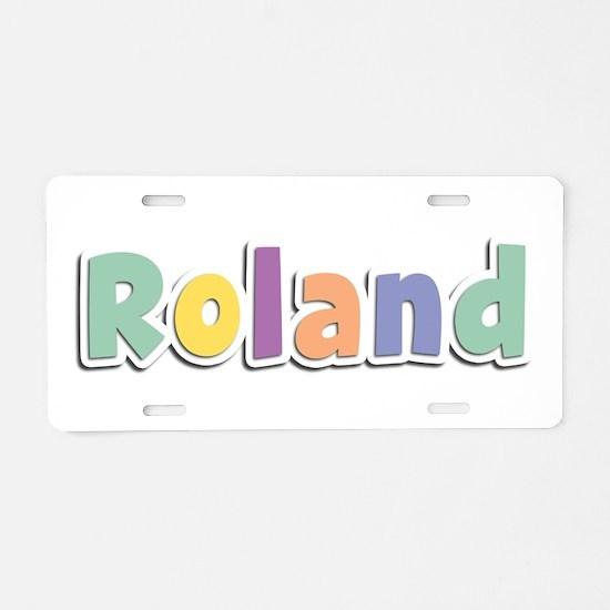 Roland Spring14 Aluminum License Plate