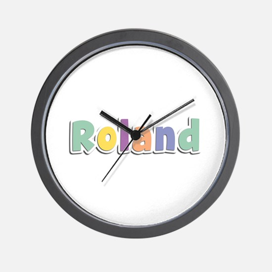 Roland Spring14 Wall Clock