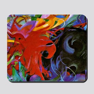 Franz Marc, Fighting Forms Mousepad