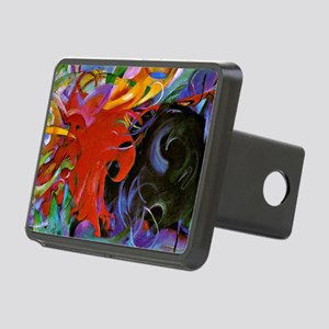Franz Marc, Fighting Forms Rectangular Hitch Cover