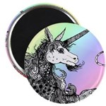 Dappled Unicorn Rainbow Magnet