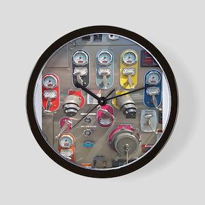 Fire Engine No. 6 Wall Clock