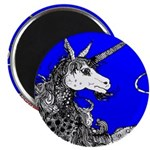 Blue Dappled Unicorn 2.25