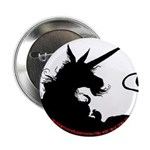 Dappled Unicorn B/W Button
