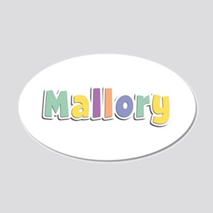 Mallory Spring14 20x12 Oval Wall Decal