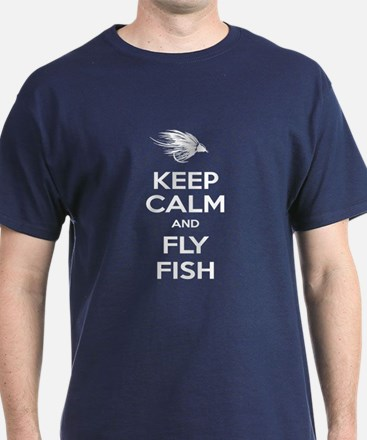 Keep Calm - Fly Fish T-Shirt