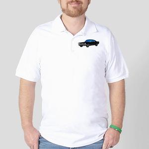 mustFast_10x7.5-blk Golf Shirt