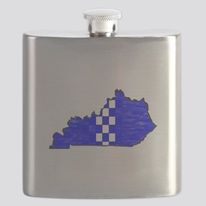 FOR THE BLUEGRASS Flask