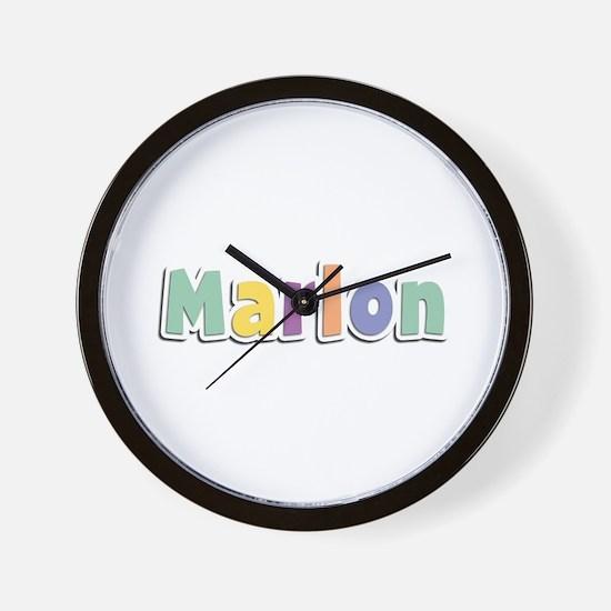 Marlon Spring14 Wall Clock